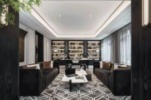 整木定制现代风格 200㎡复式豪宅定制案例