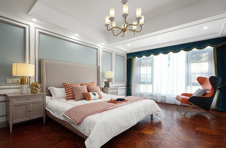 别墅整木定制 美式风格整木案例图