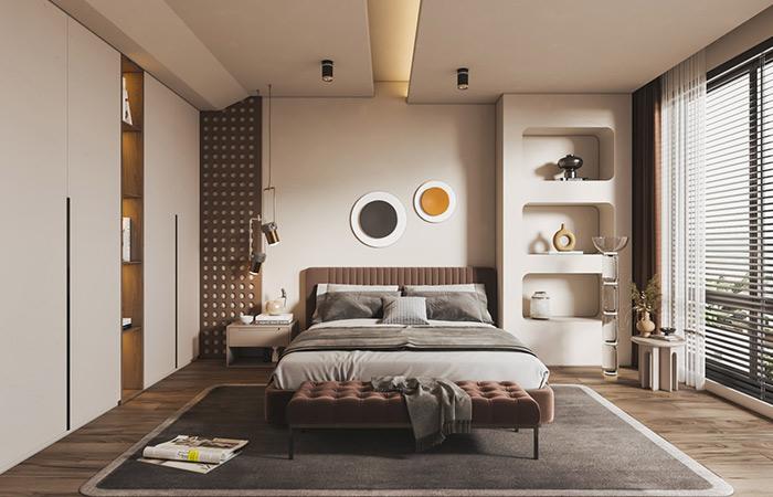 卧室的定制衣柜怎么选择颜色?