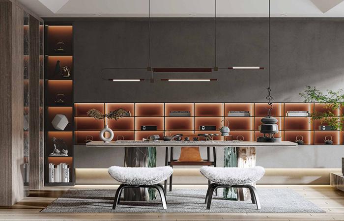 整木定制设计茶室要注意什么?